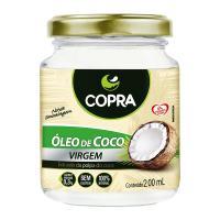 OLEO DE COCO VIRGEM 200ML
