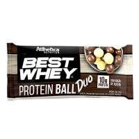 BEST WHEY PROTEIN BALLS SABOR CHOCOLATE E CHOCOLATE BRANCO 50G