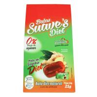BALAS SUAVES DIET DE GENGIBRE NATURAL 21G